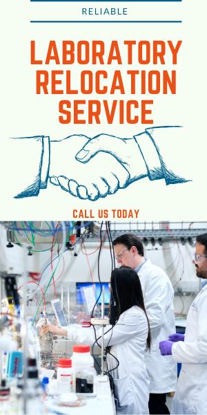 Laboratory relocation service
